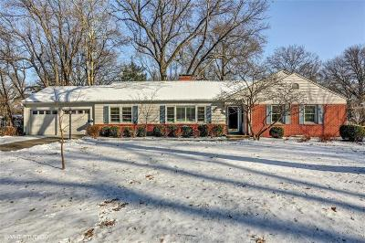Leawood KS Single Family Home For Sale: $385,000
