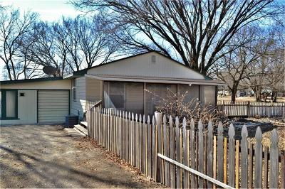 Osage County Single Family Home Show For Backups: 429 NW Mayes Street
