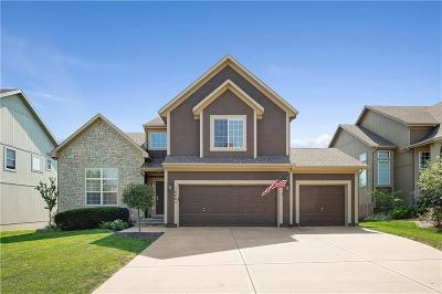 Olathe Single Family Home Show For Backups: 16687 W 155 Terrace