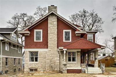 Kansas City Single Family Home For Sale: 2819 Campbell Street