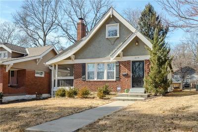 Kansas City Single Family Home For Sale: 6110 Charlotte Street