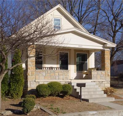 Kansas City Single Family Home For Sale: 4607 Cambridge Street