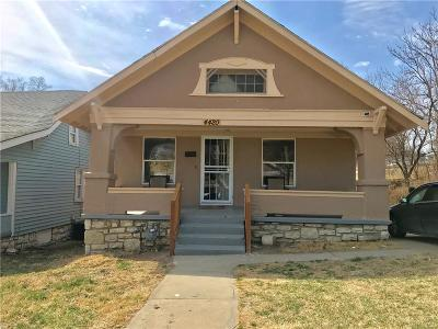 Kansas City Single Family Home For Sale: 4420 Montgall Avenue