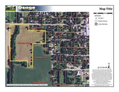Osage County Residential Lots & Land For Sale: 00000 W 6 Street