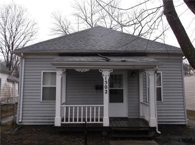 Sedalia MO Single Family Home For Sale: $56,900