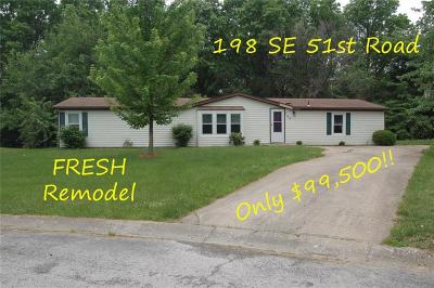 Warrensburg Single Family Home For Sale: 198 SE 51 Road