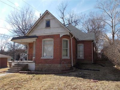 Atchison KS Single Family Home For Sale: $54,000
