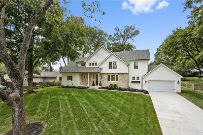 Leawood Single Family Home Show For Backups: 9638 Belinder Road