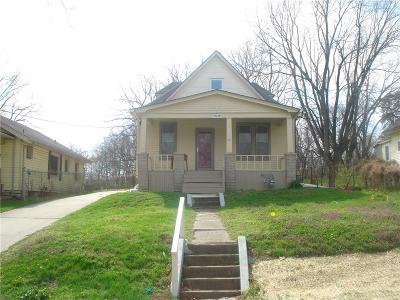Kansas City Single Family Home For Sale: 2636 N 22nd Street