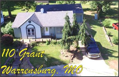 Warrensburg Single Family Home For Sale: 110 Grant Drive