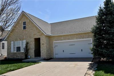 Lawrence Single Family Home For Sale: 3701 Tucker Trail