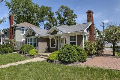 Single Family Home For Sale: 6217 Brookside Boulevard