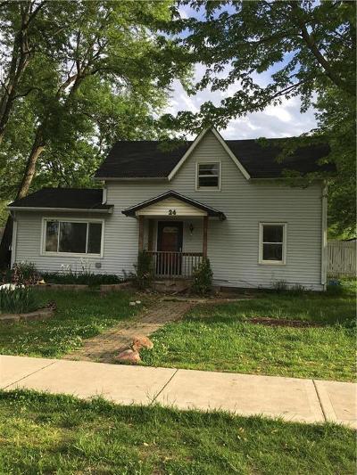Bates County Single Family Home For Sale: 24 W Main Street