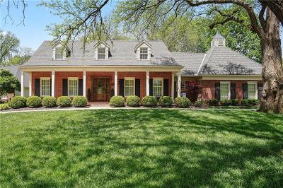 Leawood Single Family Home For Sale: 8726 Cherokee Lane