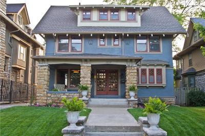 Kansas City Single Family Home For Sale: 3804 Harrison Street