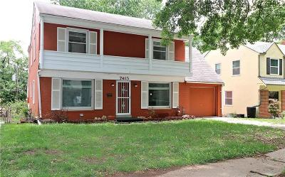 Kansas City Single Family Home For Sale: 7415 Campbell Street