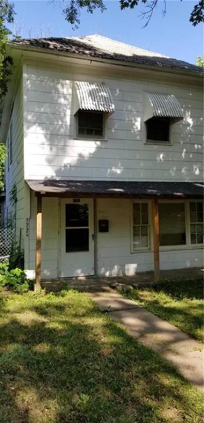 Kansas City Single Family Home For Sale: 5729 Mersington Avenue
