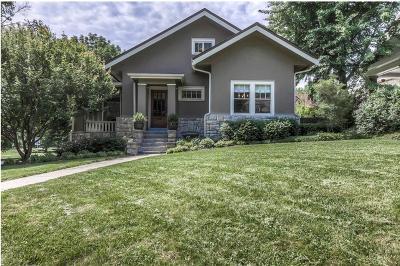 Single Family Home For Sale: 5500 Brookside Boulevard