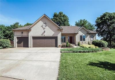 Overland Park Single Family Home For Sale: 8600 W 155th Terrace