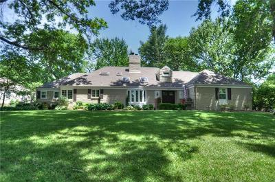 Leawood Single Family Home For Sale: 9815 Sagamore Road