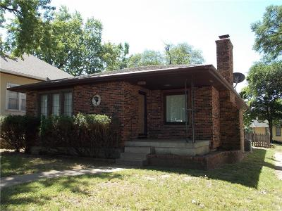 Single Family Home For Sale: 1036 Kansas Avenue