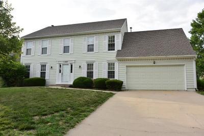 Overland Park Single Family Home For Sale: 11837 Mackey Street