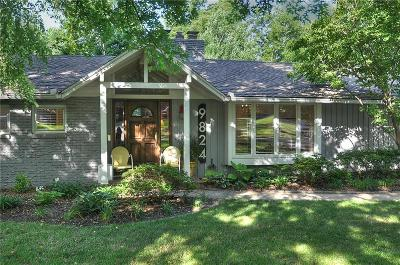 Leawood Single Family Home For Sale: 9824 Sagamore Road