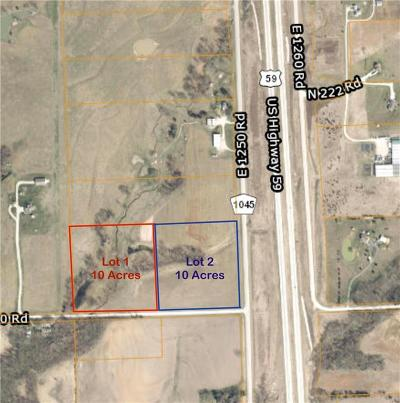 Douglas County Residential Lots & Land For Sale: 0000 E 1250 Road