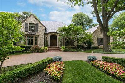 Mission Hills KS Single Family Home For Sale: $3,395,000