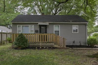 Jackson County, Johnson-KS County Single Family Home For Sale: 3113 S Vermont Avenue