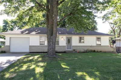 Merriam Single Family Home For Sale: 4709 Eby Street