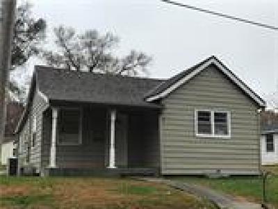 Jasper County Single Family Home For Sale: 1309 Missouri Avenue