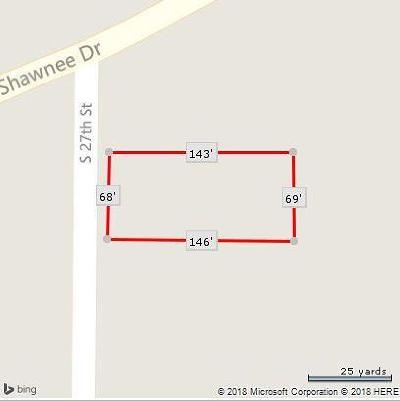 Wyandotte County Residential Lots & Land For Sale: 2603 S 27th Street