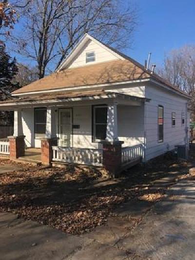 Bourbon County Single Family Home For Sale: 1525 E Pine Street