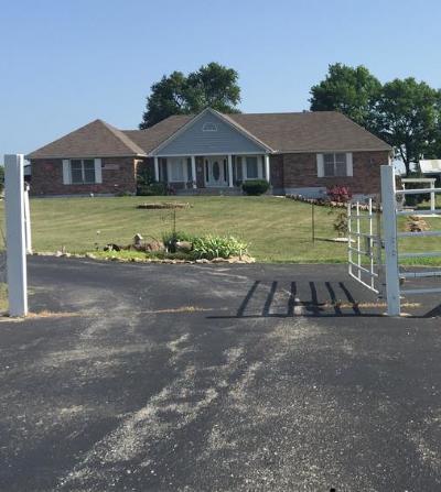 Single Family Home For Sale: 31508 E Truman Road