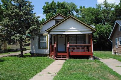 Kansas City KS Single Family Home For Sale: $80,000