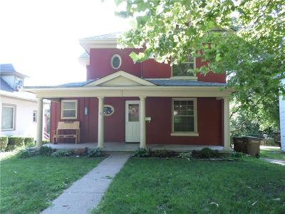 Atchison KS Single Family Home For Sale: $128,750