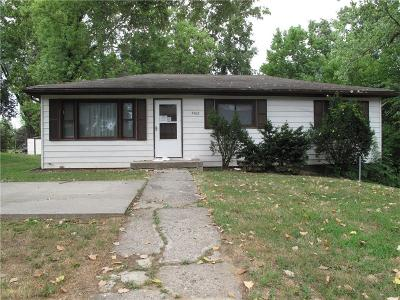 Kansas City Single Family Home For Sale: 7402 Osage Avenue
