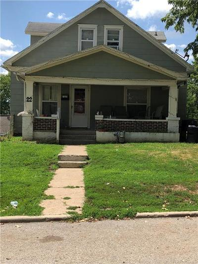 Wyandotte County Single Family Home For Sale: 22 S 25th Street