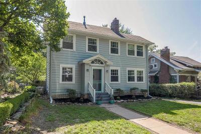 Single Family Home For Sale: 6017 Oak Street