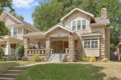 Single Family Home For Sale: 5804 Brookside Boulevard