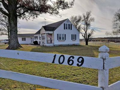 Baldwin City Single Family Home For Sale: 1069 N 300 Road
