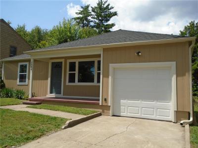 Kansas City Single Family Home For Sale: 2844 N 41st Street