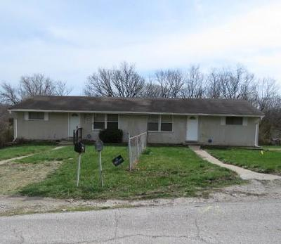 Wyandotte County Multi Family Home Auction: 5133-5 Wood Avenue