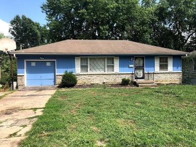 Kansas City Single Family Home For Sale: 8719 Stark Avenue