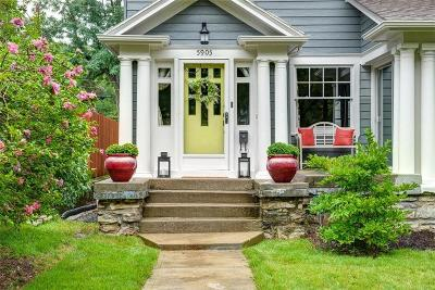 Single Family Home For Sale: 5905 Central Street