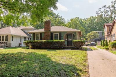 Single Family Home For Sale: 6412 Oak Street