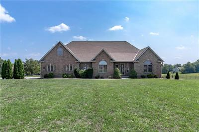 Clay County Single Family Home For Sale: 14521 Jesse James Farm Road