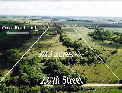 Osage County Residential Lots & Land For Sale: E 137th Street