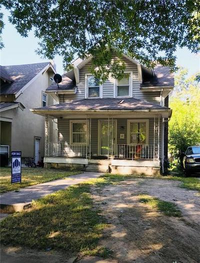 Kansas City Single Family Home For Sale: 3626 Agnes Avenue